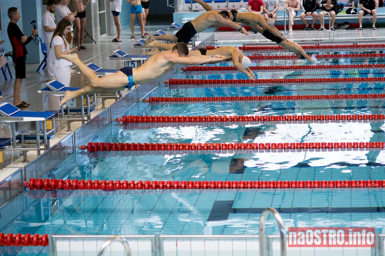 NaOSTRO pływackie zawody strażaków-13