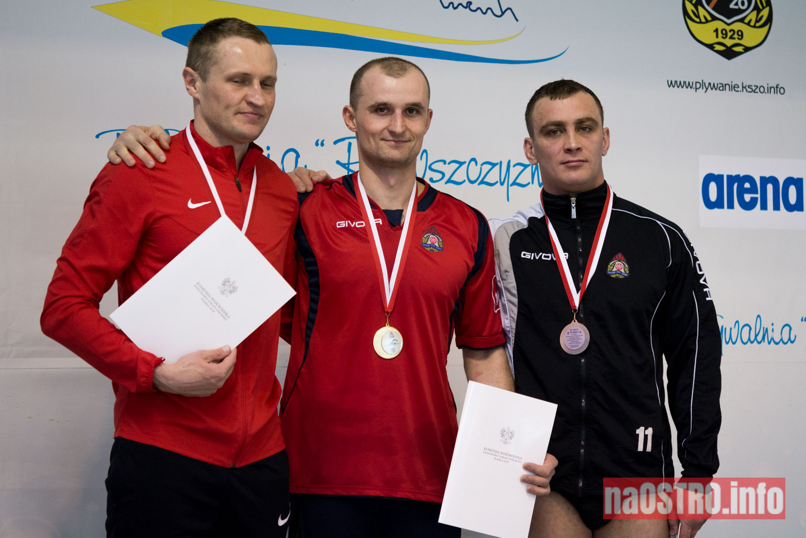 NaOSTRO pływackie zawody strażaków-16