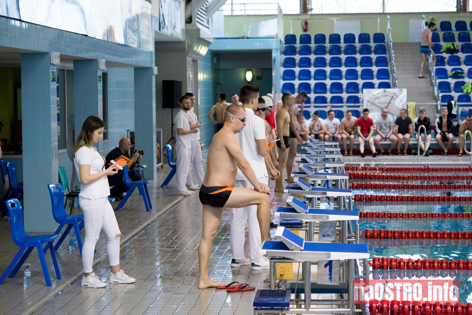 NaOSTRO pływackie zawody strażaków-3