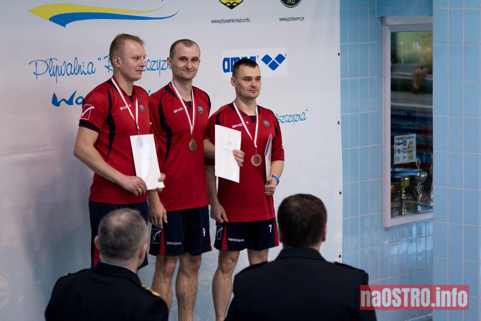 NaOSTRO pływackie zawody strażaków-8