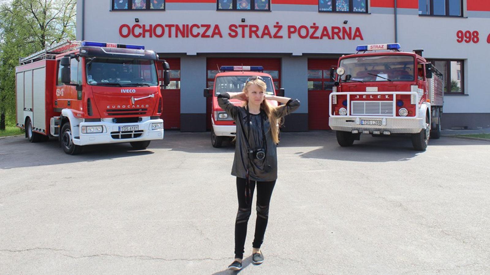 Emilia Chyża To Jedyna W Polsce Strażacka Poetka Każdy Z