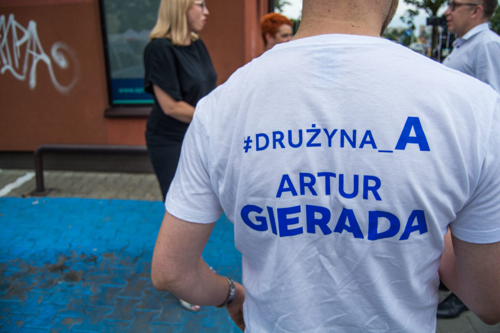 Artur Gierada polityk Platforma Obywatelska Wybory parlamentarne