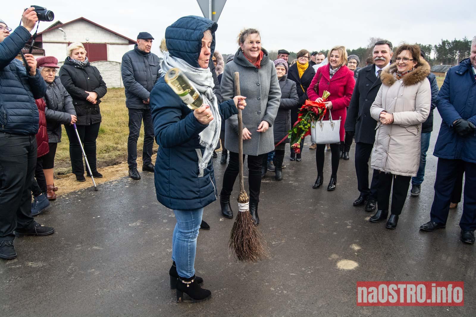NaOSTRO Otwarcie drogi Miłkowska Karczma-19