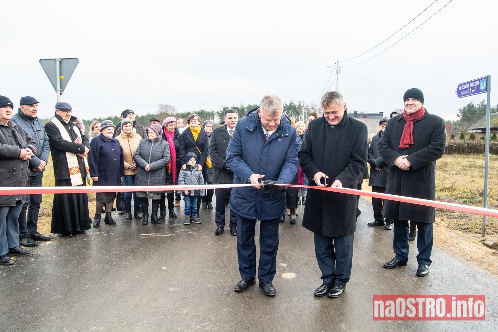NaOSTRO Otwarcie drogi Miłkowska Karczma-7