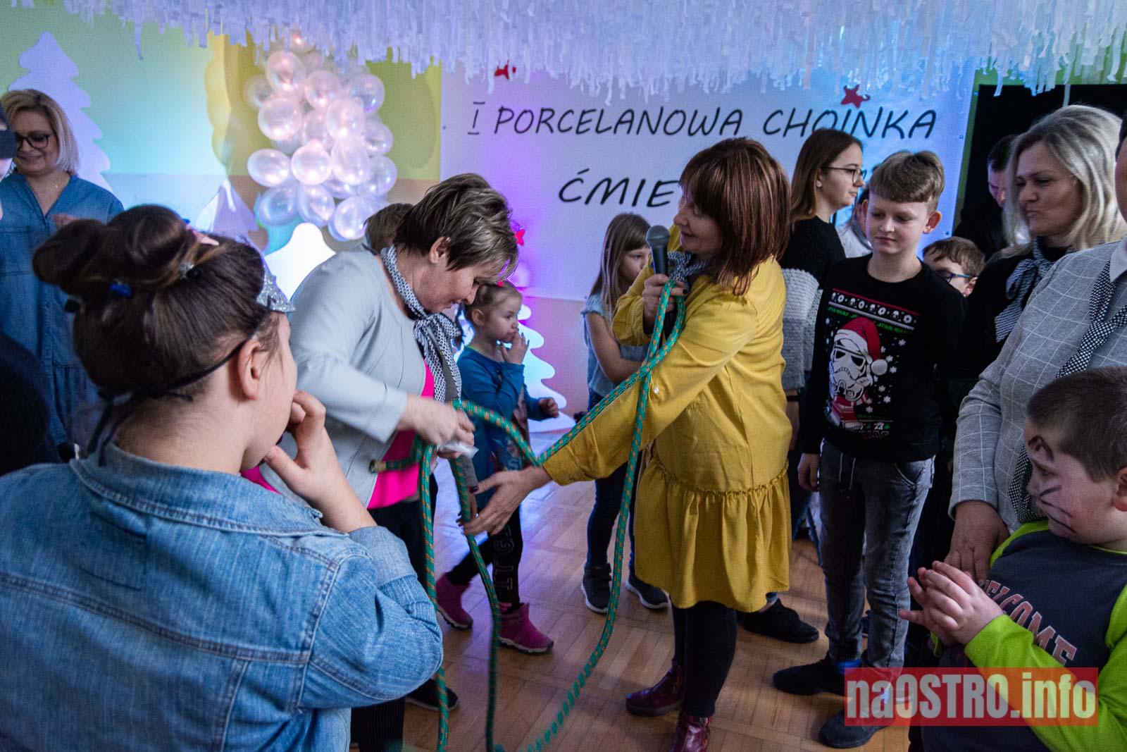 NaOSTRO I Choinka Porcelanowa ćmielów 2020-19