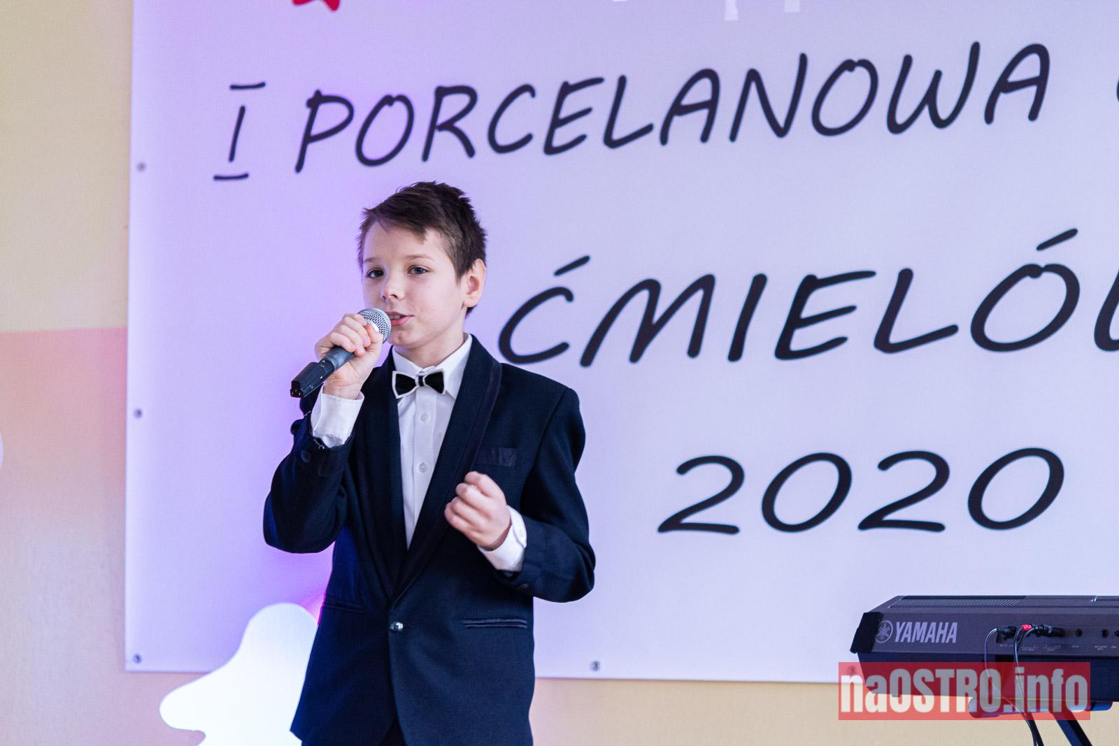 NaOSTRO I Choinka Porcelanowa ćmielów 2020-26
