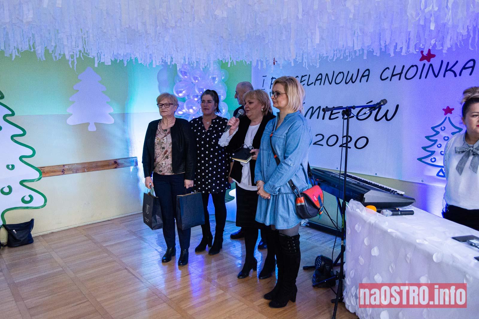 NaOSTRO I Choinka Porcelanowa ćmielów 2020-4