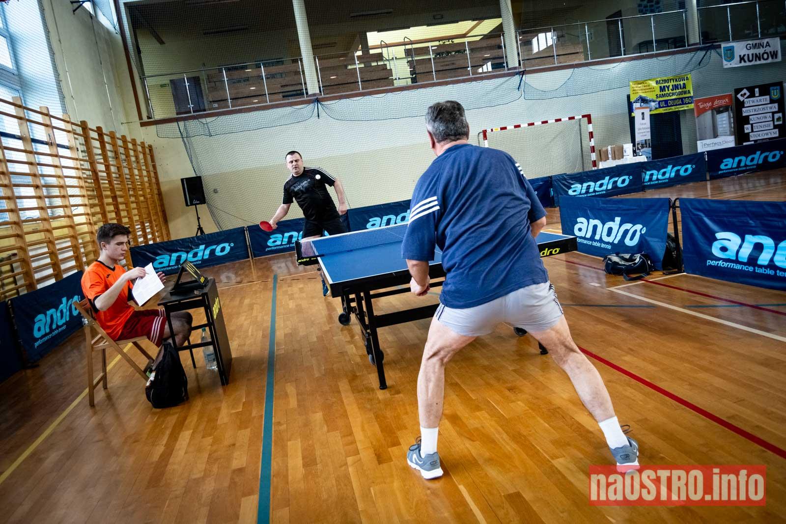 NaOSTRO I Mistrzostwa Kunowa w Tenisie Stołowym 2020-24