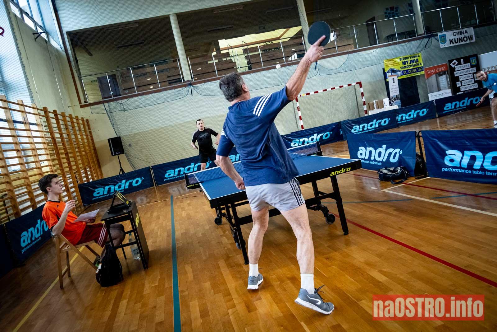 NaOSTRO I Mistrzostwa Kunowa w Tenisie Stołowym 2020-25