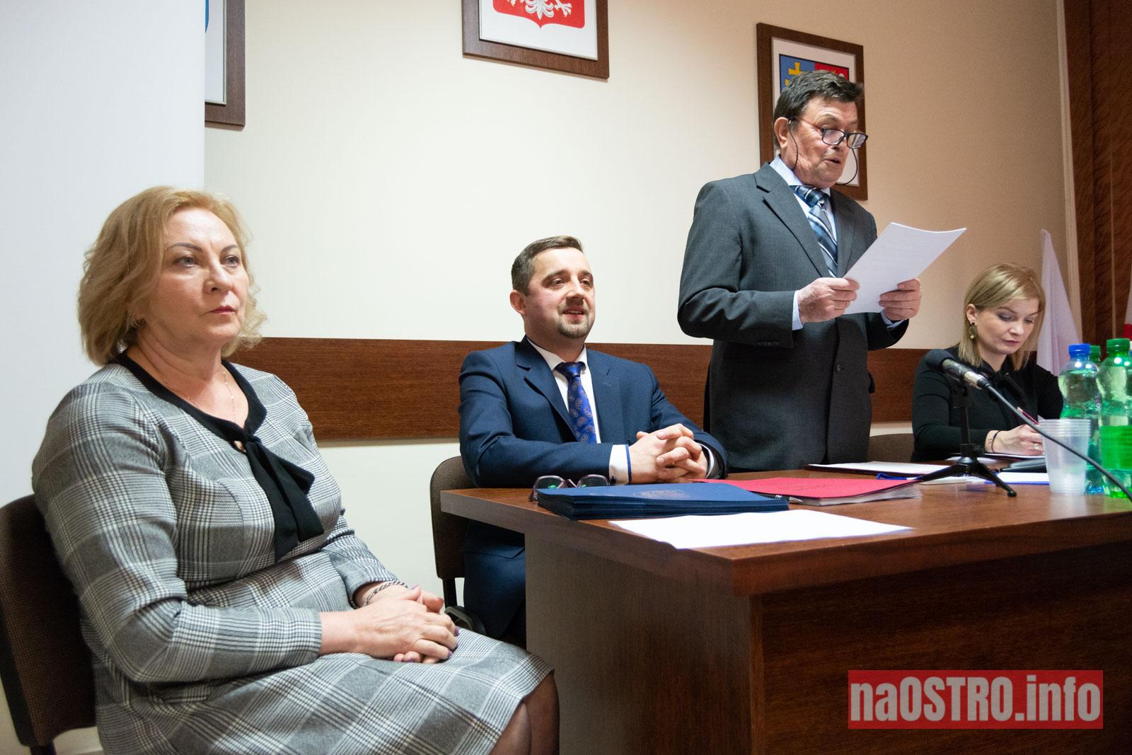 NaOSTRO I Sesja Rady Gminy Bałtów 2002-10