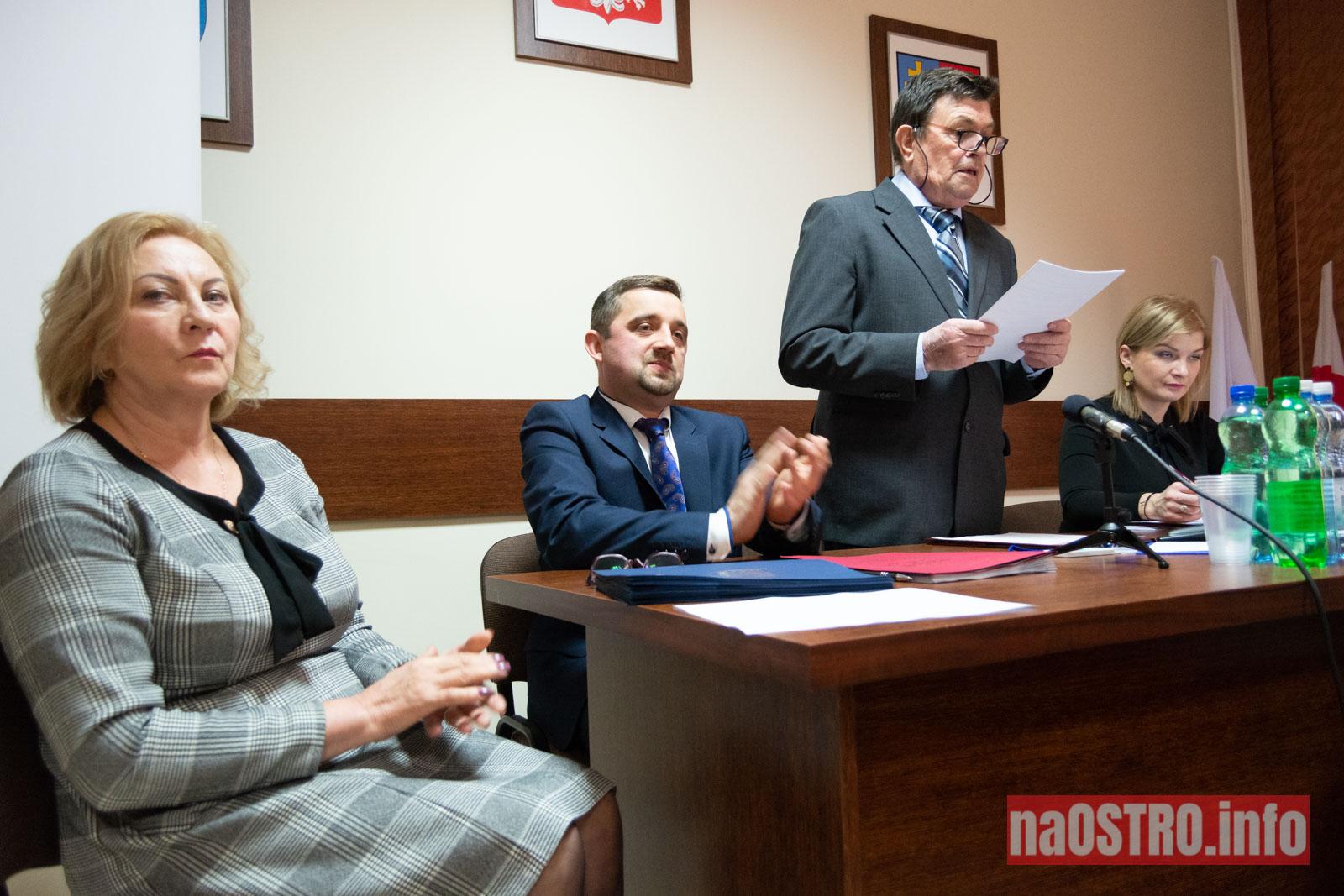 NaOSTRO I Sesja Rady Gminy Bałtów 2002-11