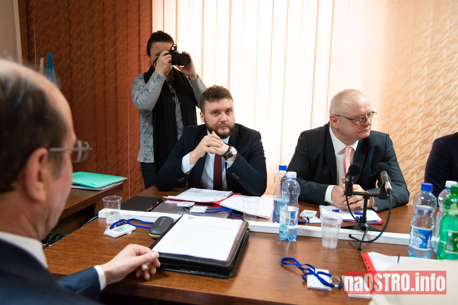 NaOSTRO I Sesja Rady Gminy Bałtów 2002-12