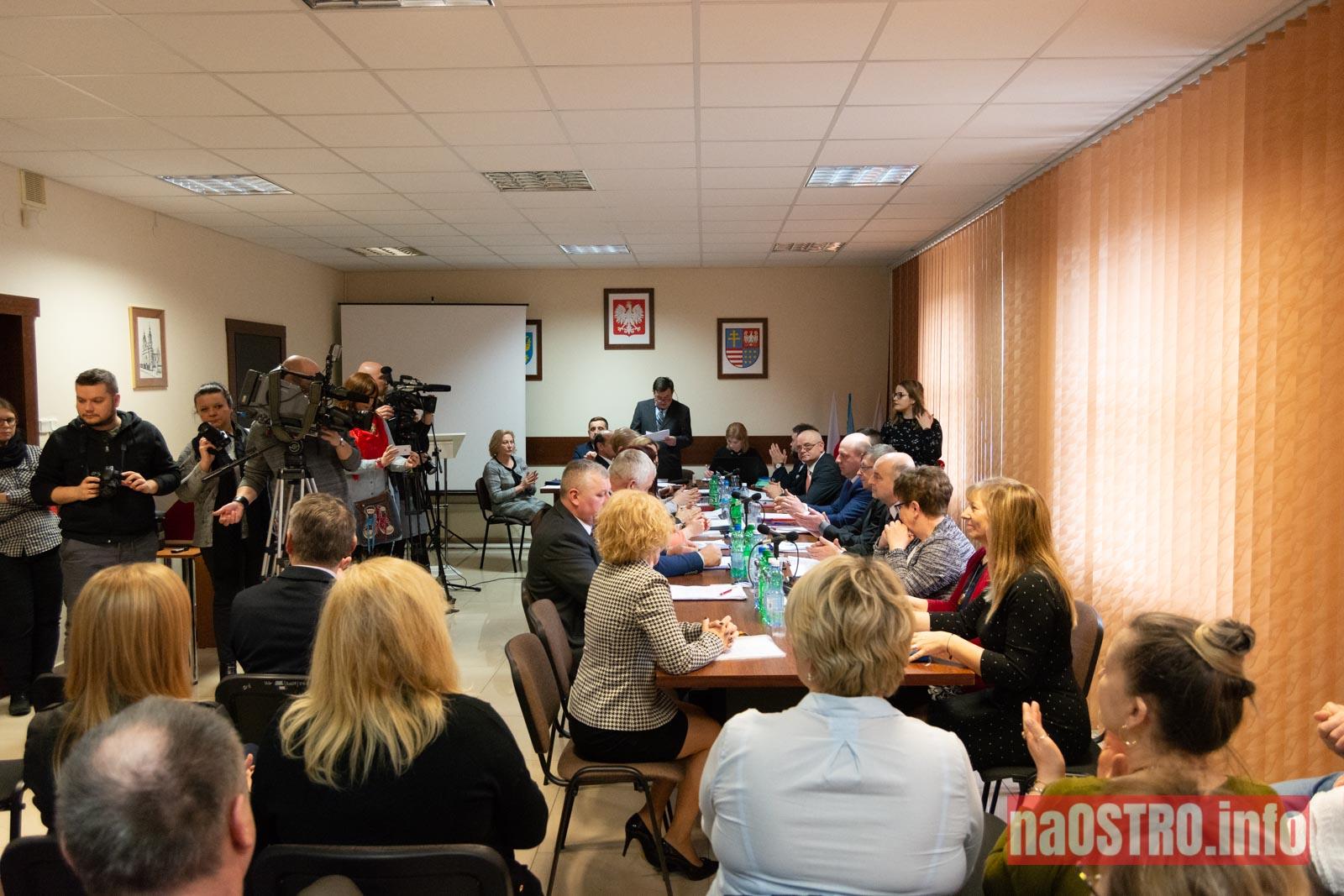 NaOSTRO I Sesja Rady Gminy Bałtów 2002-2