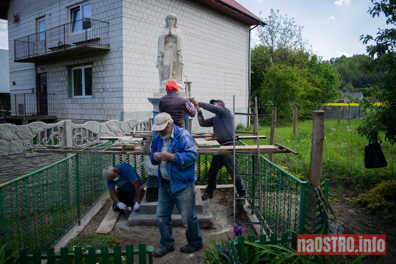 NaOSTRO Renowacja Matki Bożej Nietulisko Małe-14