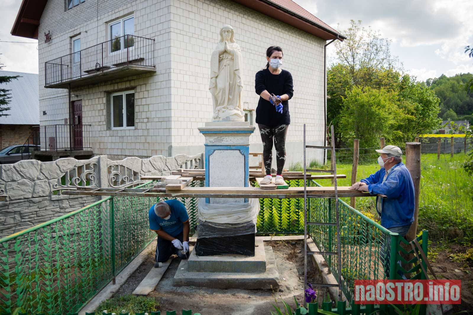 NaOSTRO Renowacja Matki Bożej Nietulisko Małe-4