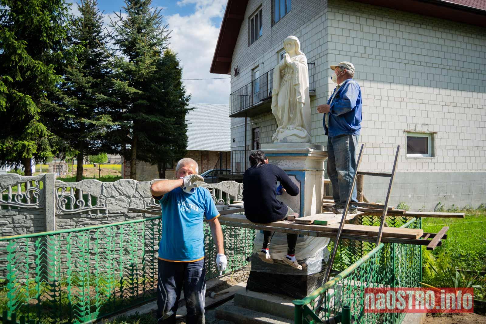 NaOSTRO Renowacja Matki Bożej Nietulisko Małe-7