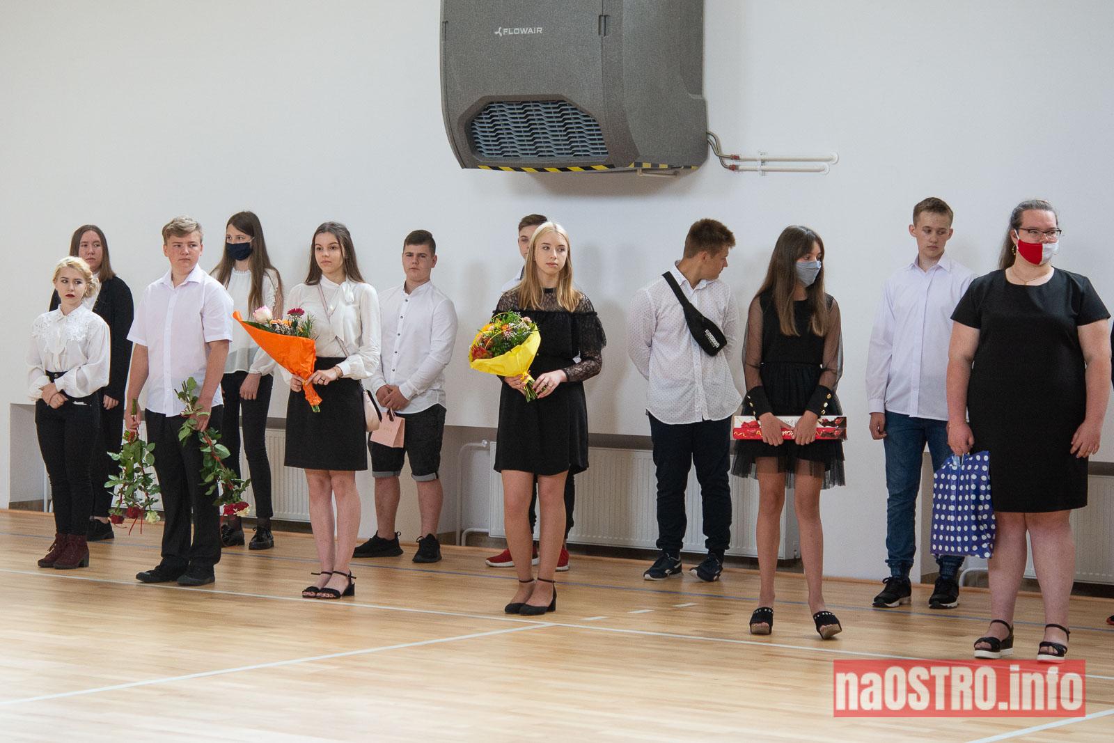 NaOSTROinfo Zakończenie Roku Szkolengo 8 klas Bałtów-1001