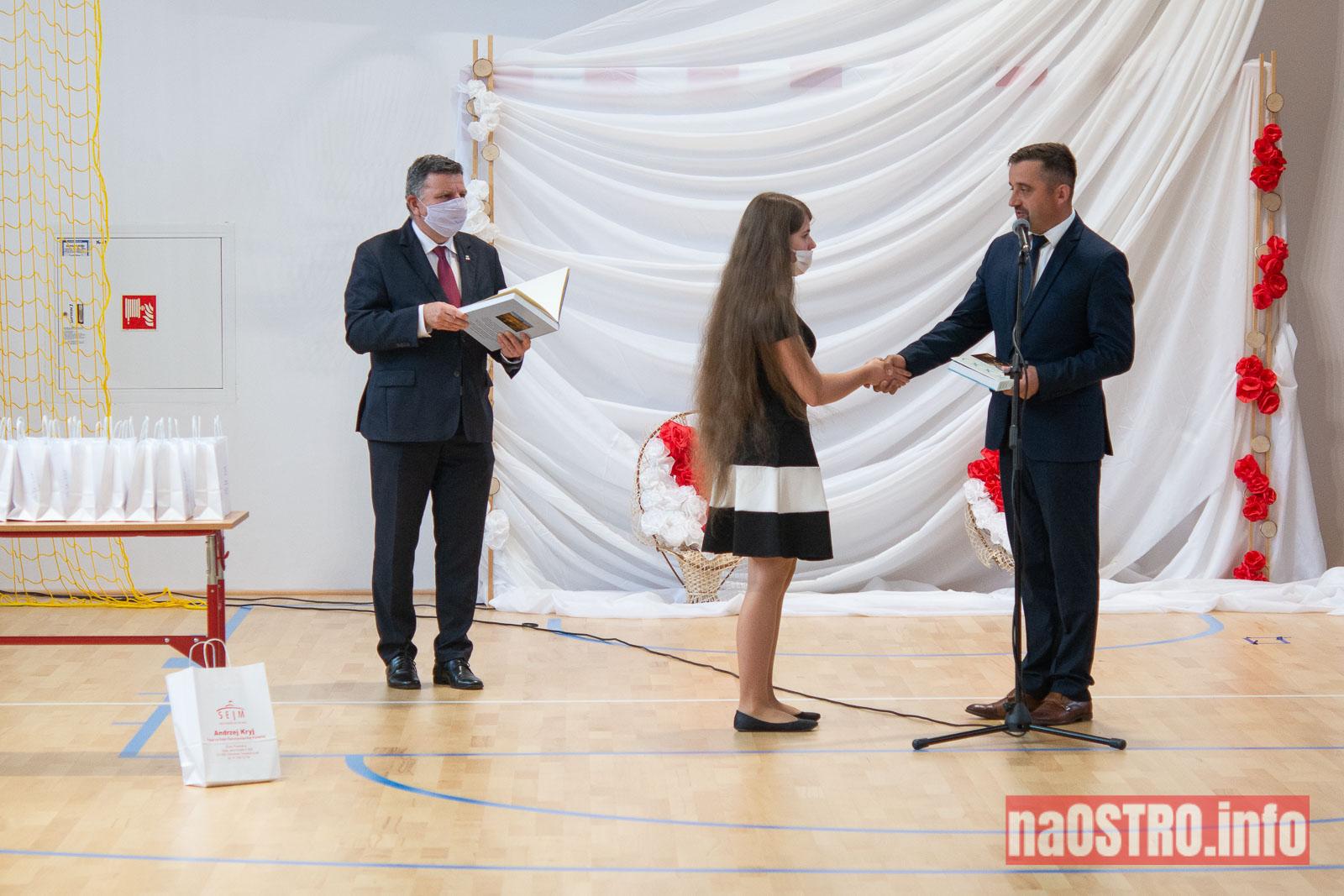 NaOSTROinfo Zakończenie Roku Szkolengo 8 klas Bałtów-1007