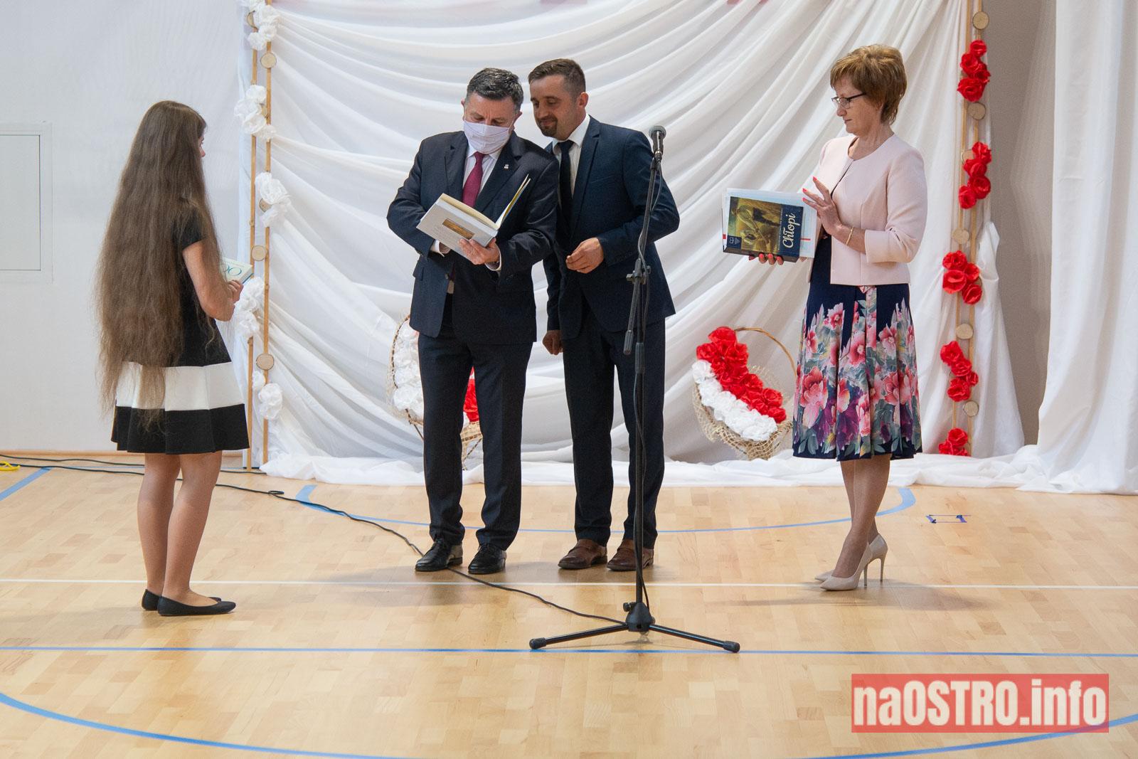 NaOSTROinfo Zakończenie Roku Szkolengo 8 klas Bałtów-1008
