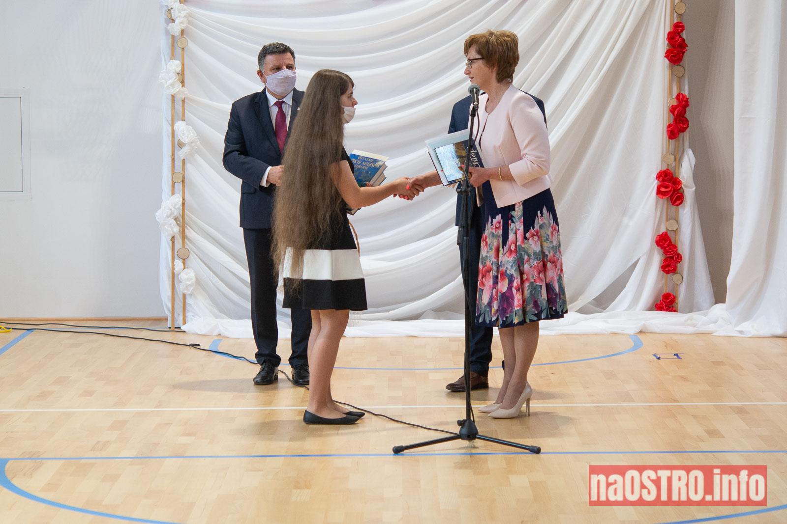 NaOSTROinfo Zakończenie Roku Szkolengo 8 klas Bałtów-1010