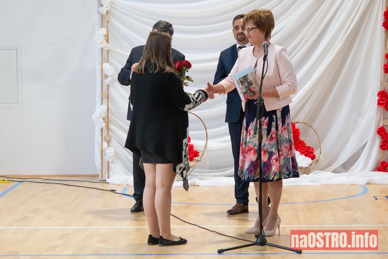 NaOSTROinfo Zakończenie Roku Szkolengo 8 klas Bałtów-1011