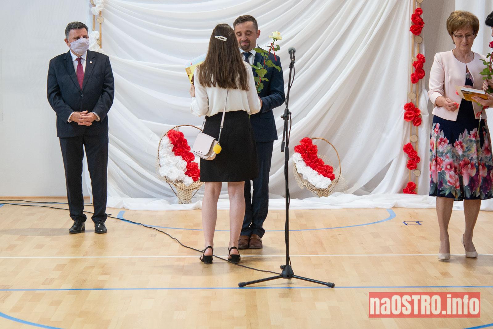 NaOSTROinfo Zakończenie Roku Szkolengo 8 klas Bałtów-1021