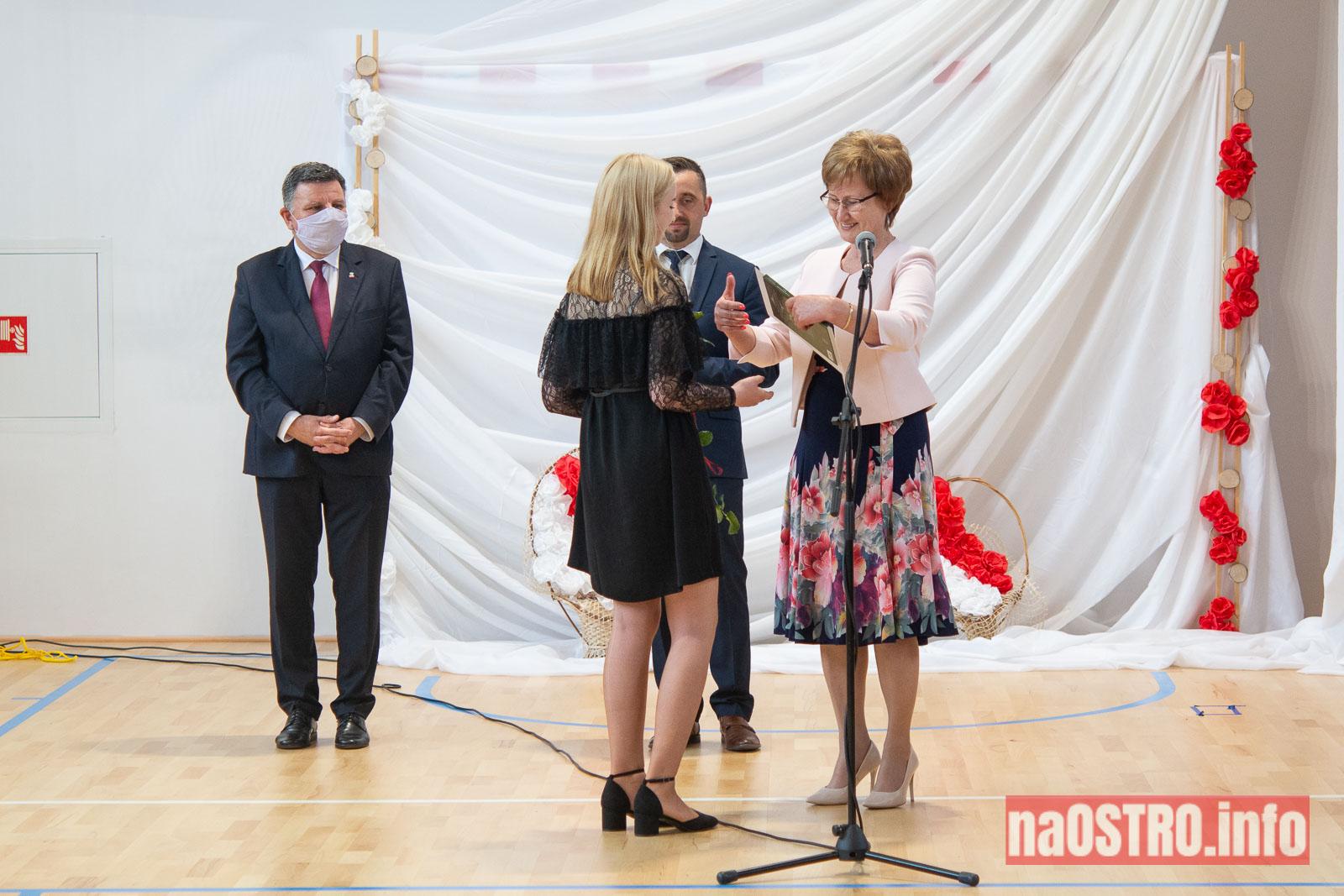 NaOSTROinfo Zakończenie Roku Szkolengo 8 klas Bałtów-1024