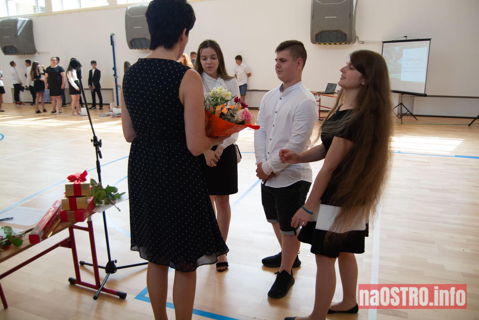 NaOSTROinfo Zakończenie Roku Szkolengo 8 klas Bałtów-1045
