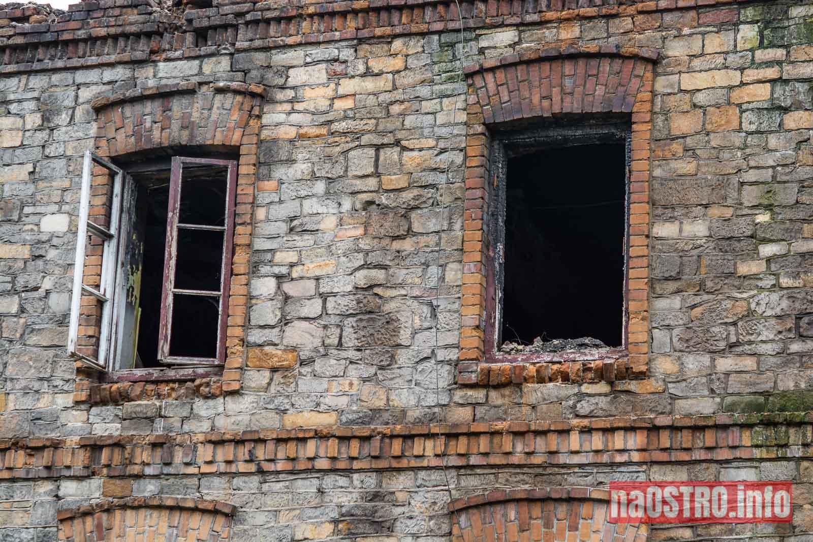 NaOSTROinfo Pożar kamienicy przy Osadowej-4