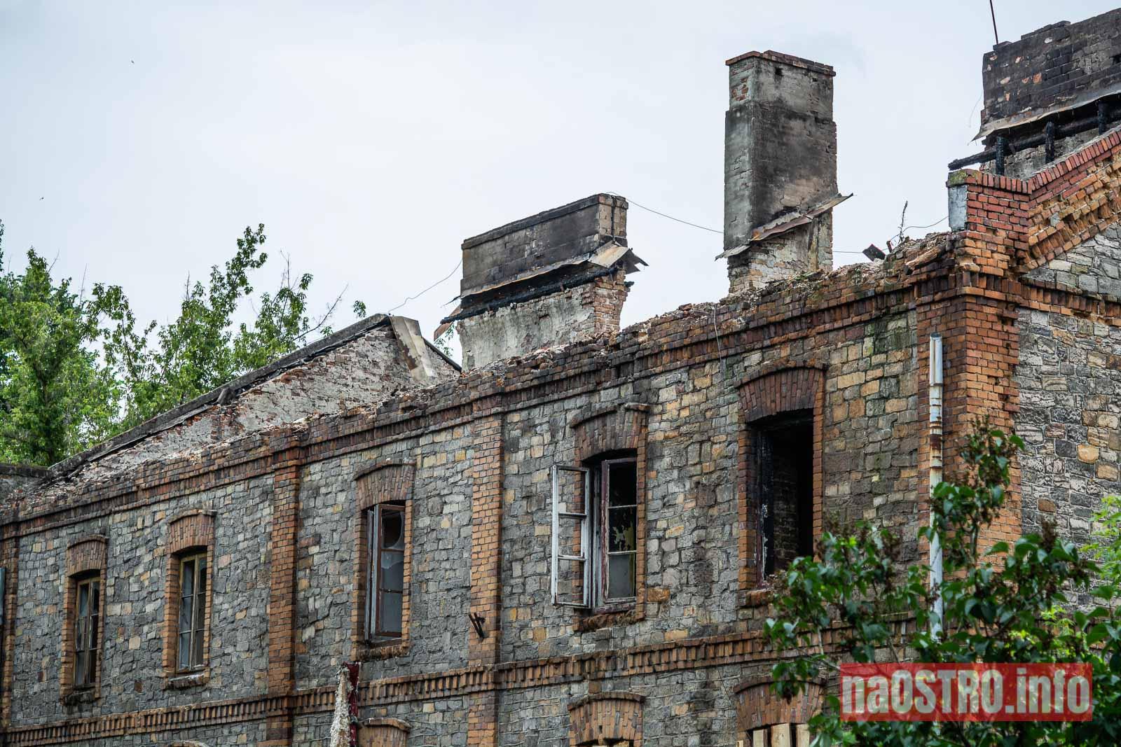 NaOSTROinfo Pożar kamienicy przy Osadowej-5