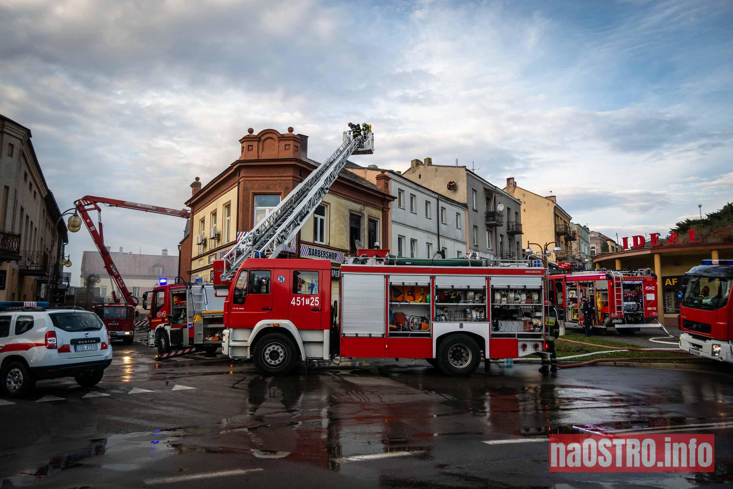 NaOSTROinfo Pożar ul Młyńska-1