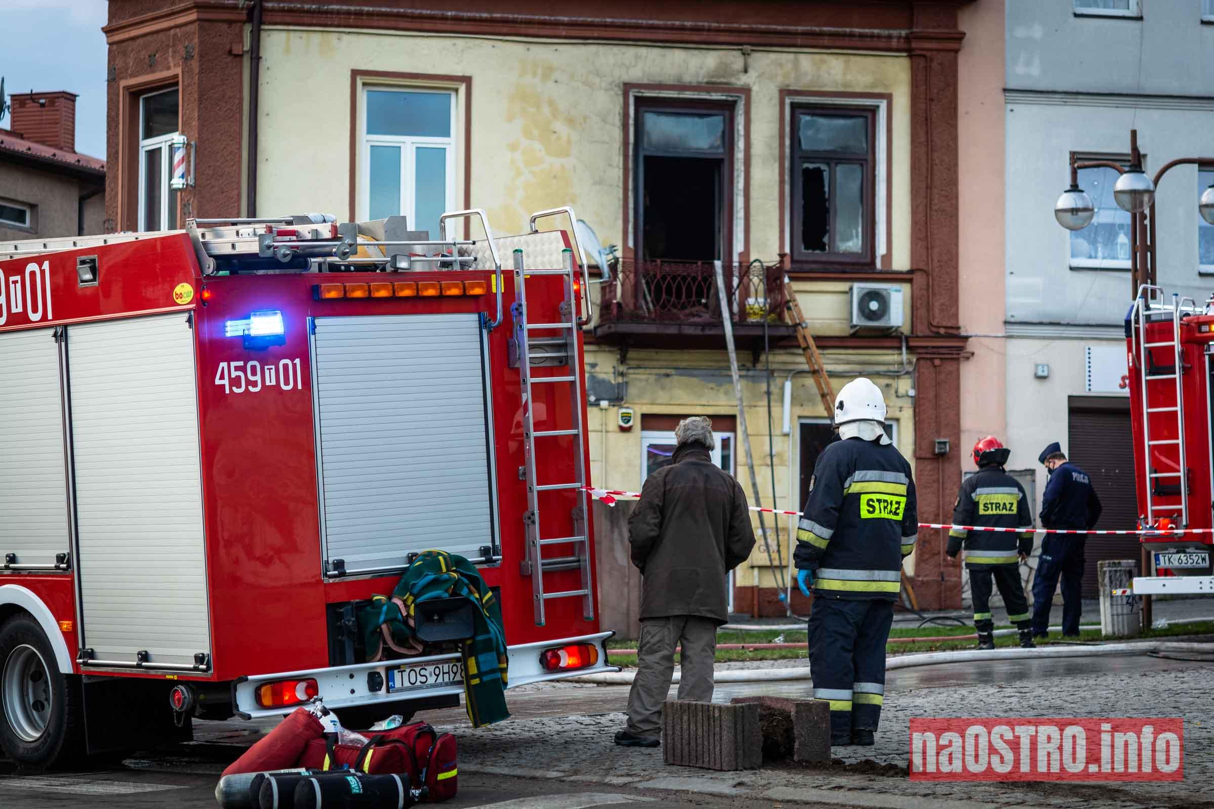 NaOSTROinfo Pożar ul Młyńska-13