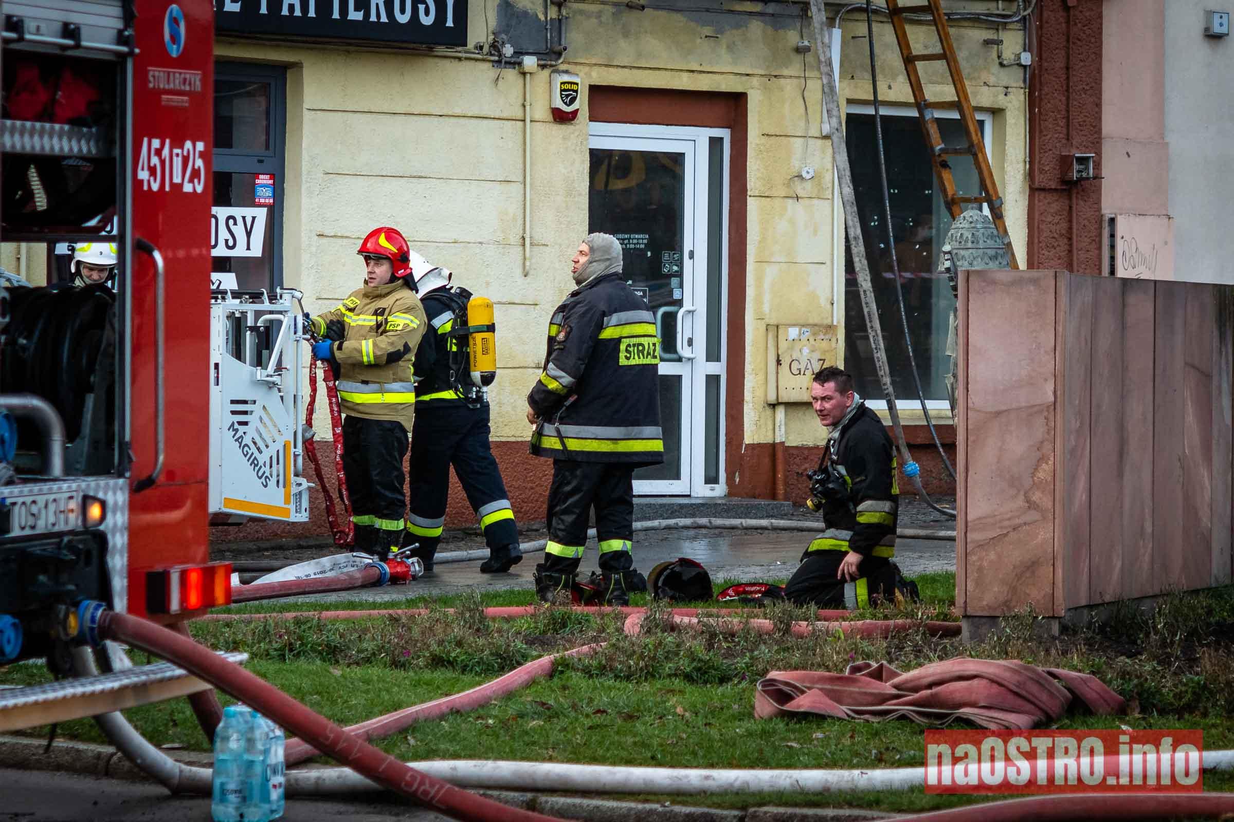 NaOSTROinfo Pożar ul Młyńska-15