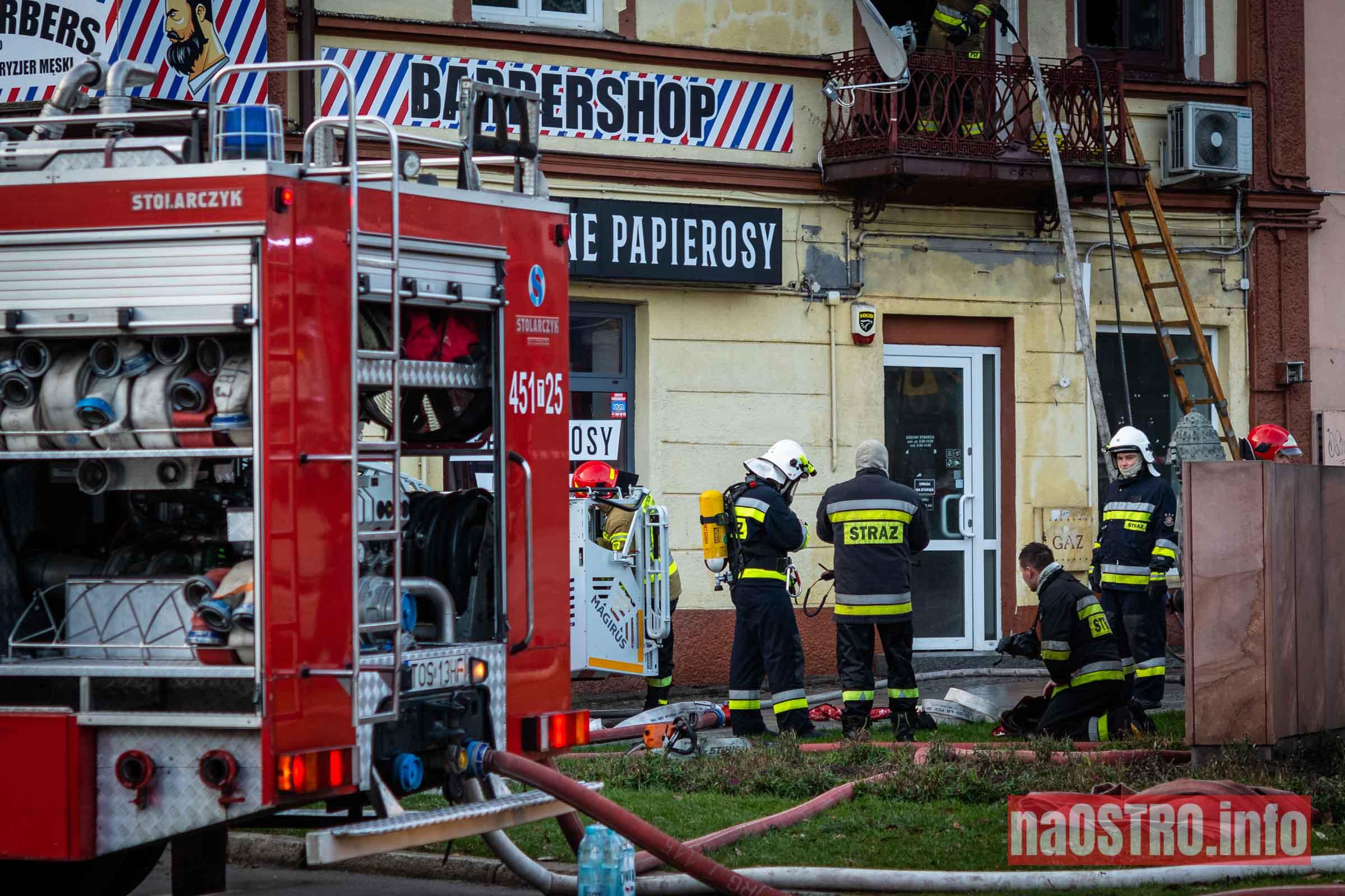 NaOSTROinfo Pożar ul Młyńska-16