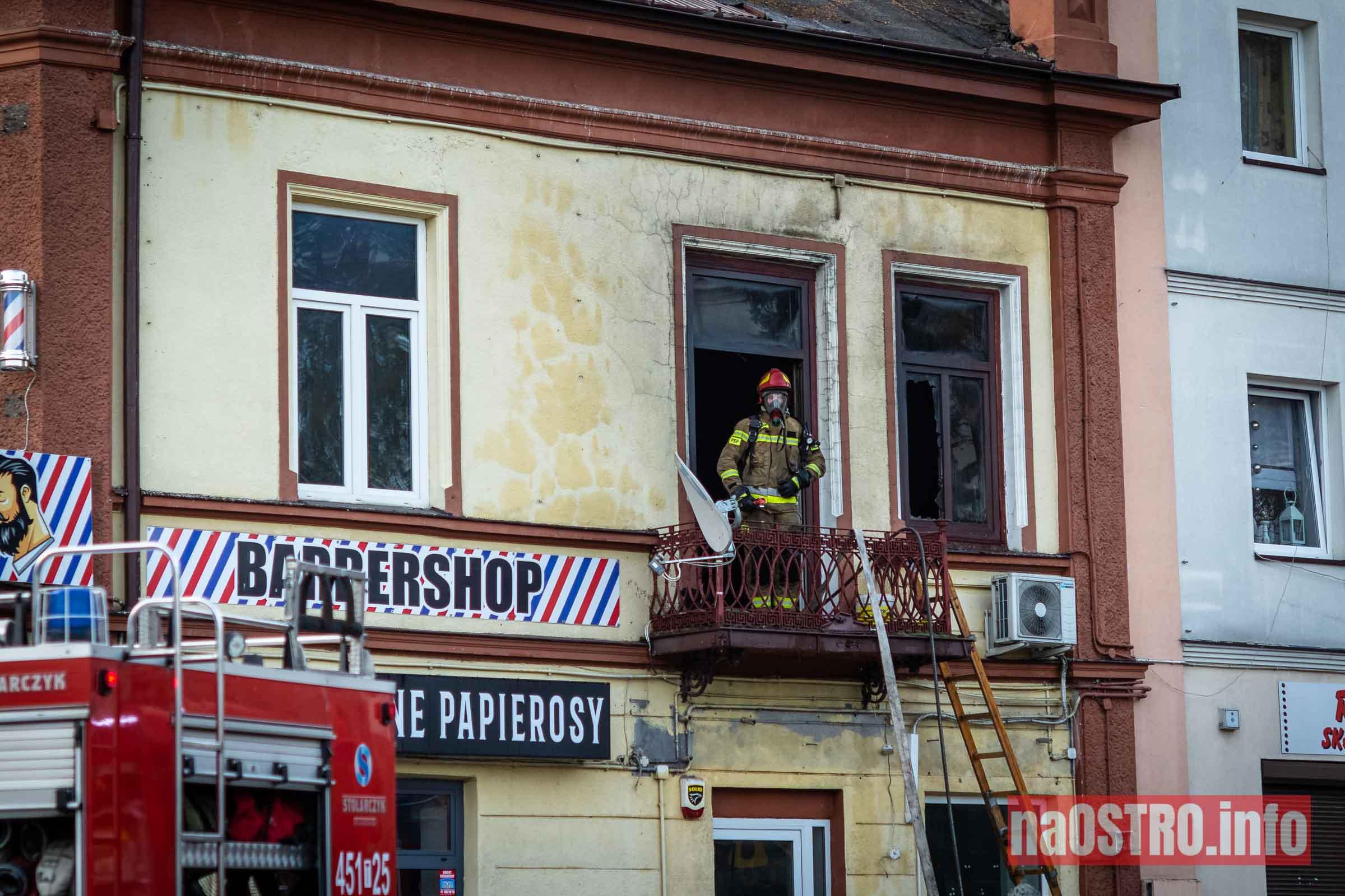 NaOSTROinfo Pożar ul Młyńska-17