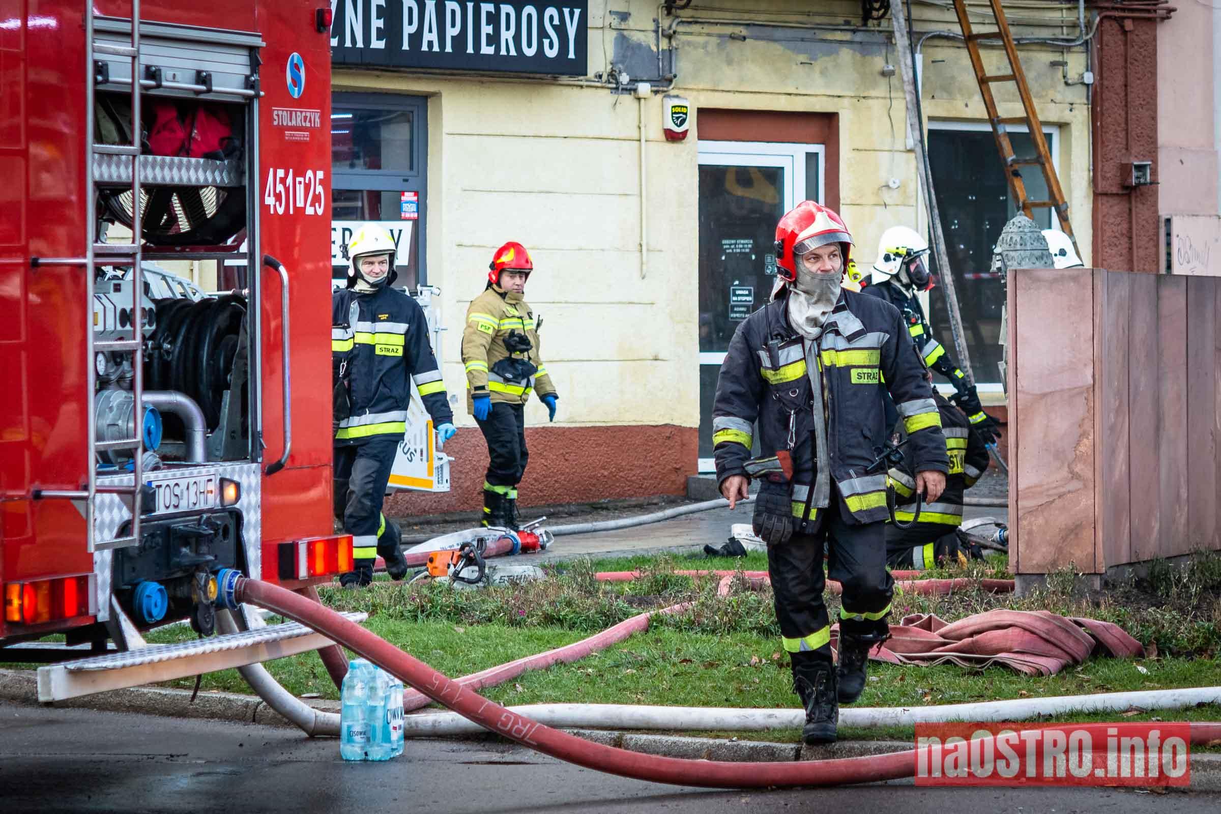 NaOSTROinfo Pożar ul Młyńska-19