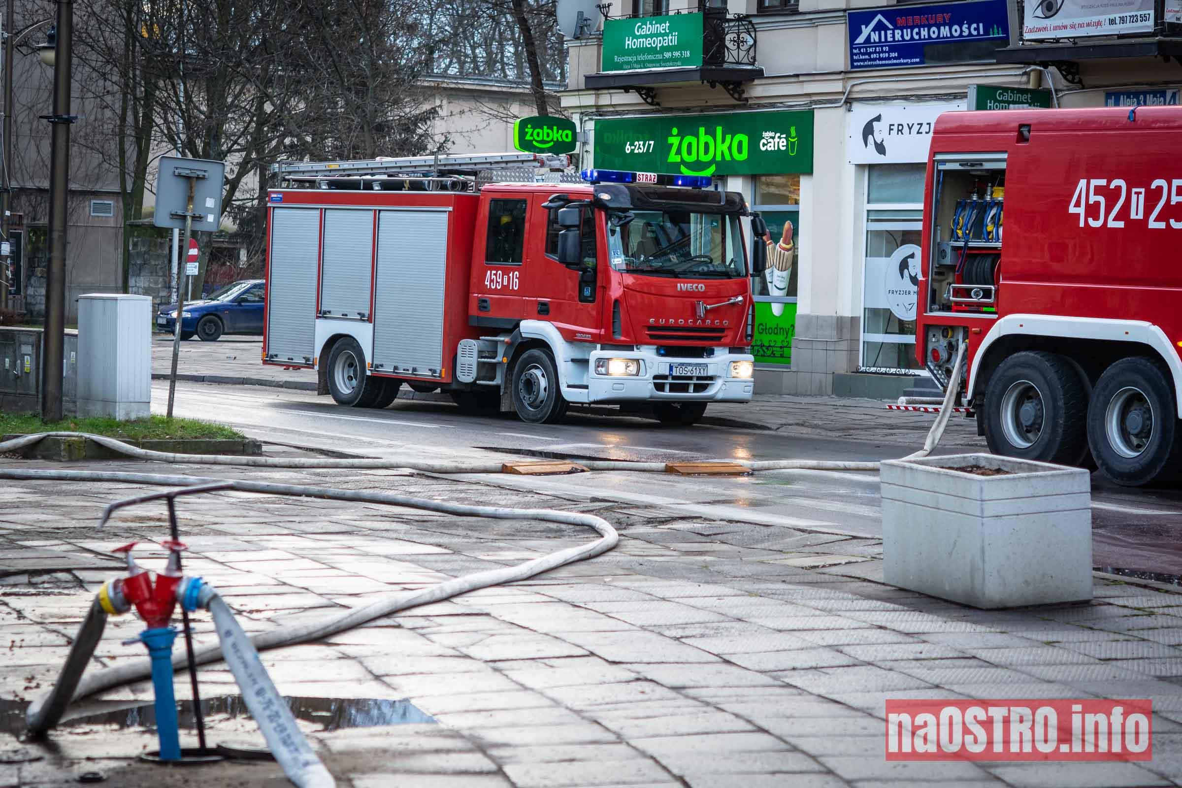 NaOSTROinfo Pożar ul Młyńska-23
