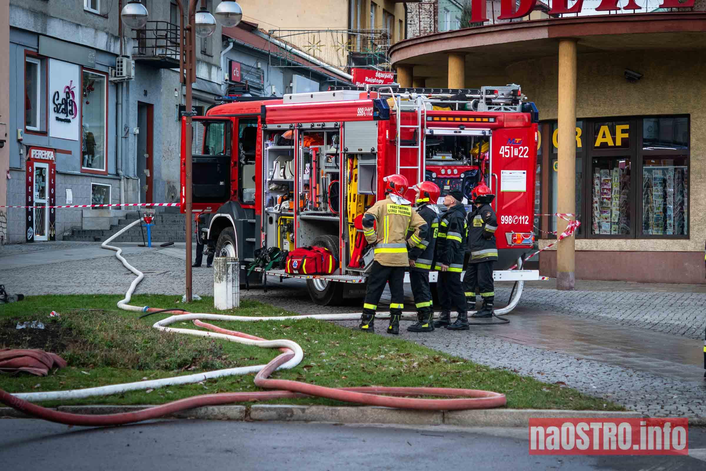 NaOSTROinfo Pożar ul Młyńska-24