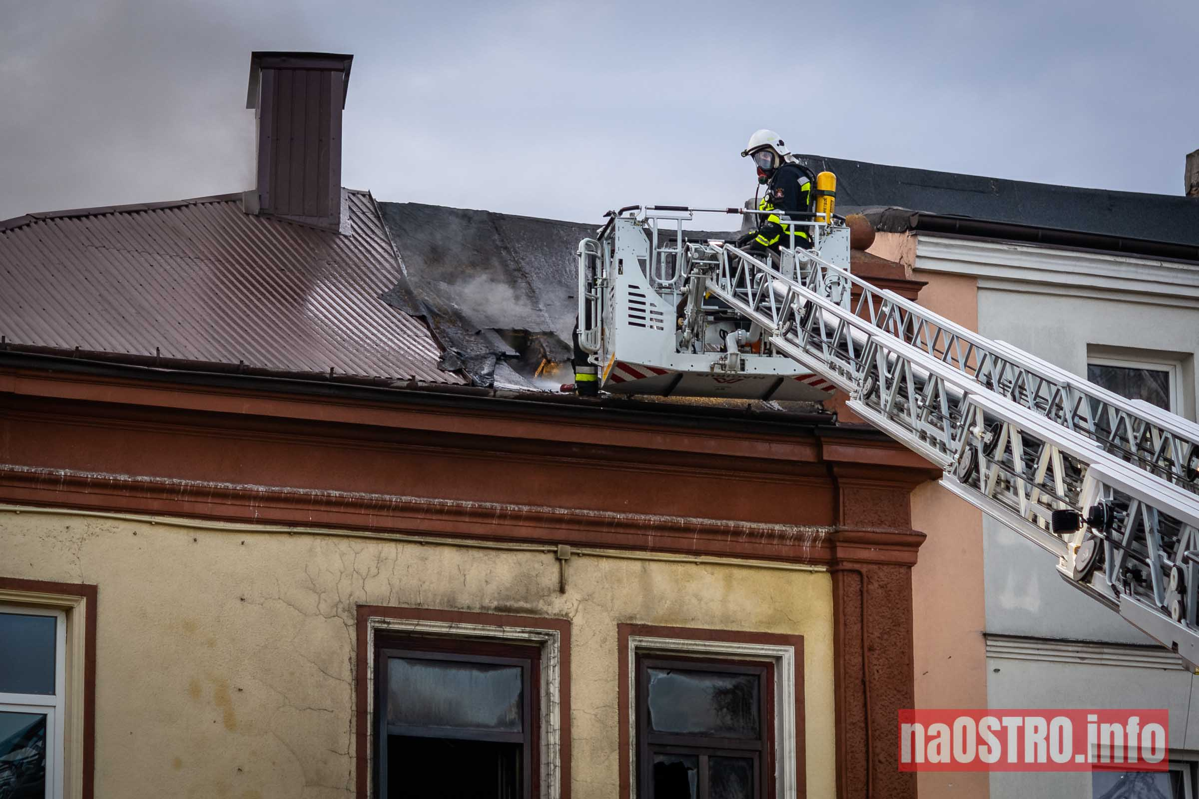 NaOSTROinfo Pożar ul Młyńska-26