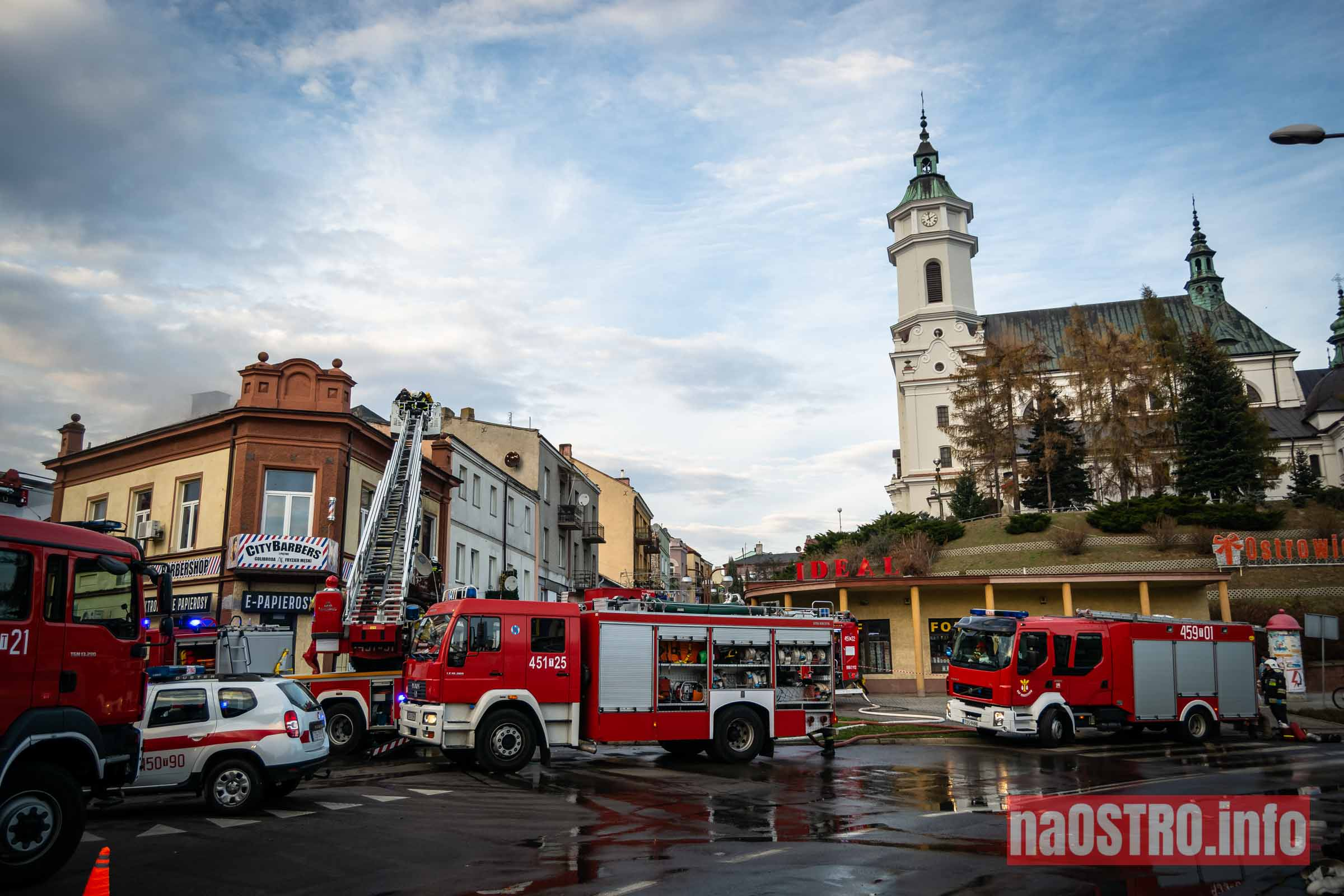 NaOSTROinfo Pożar ul Młyńska-3