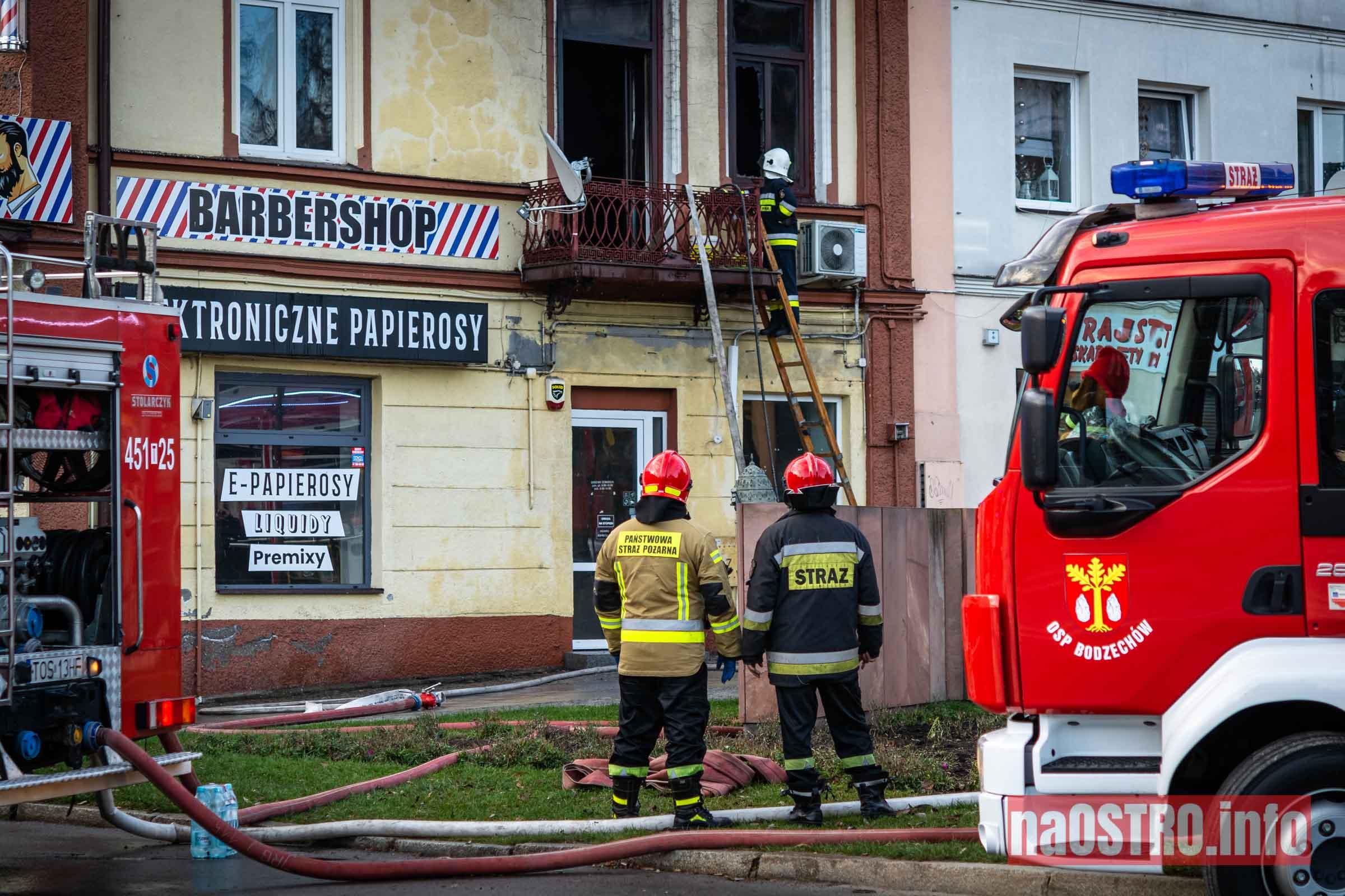 NaOSTROinfo Pożar ul Młyńska-7
