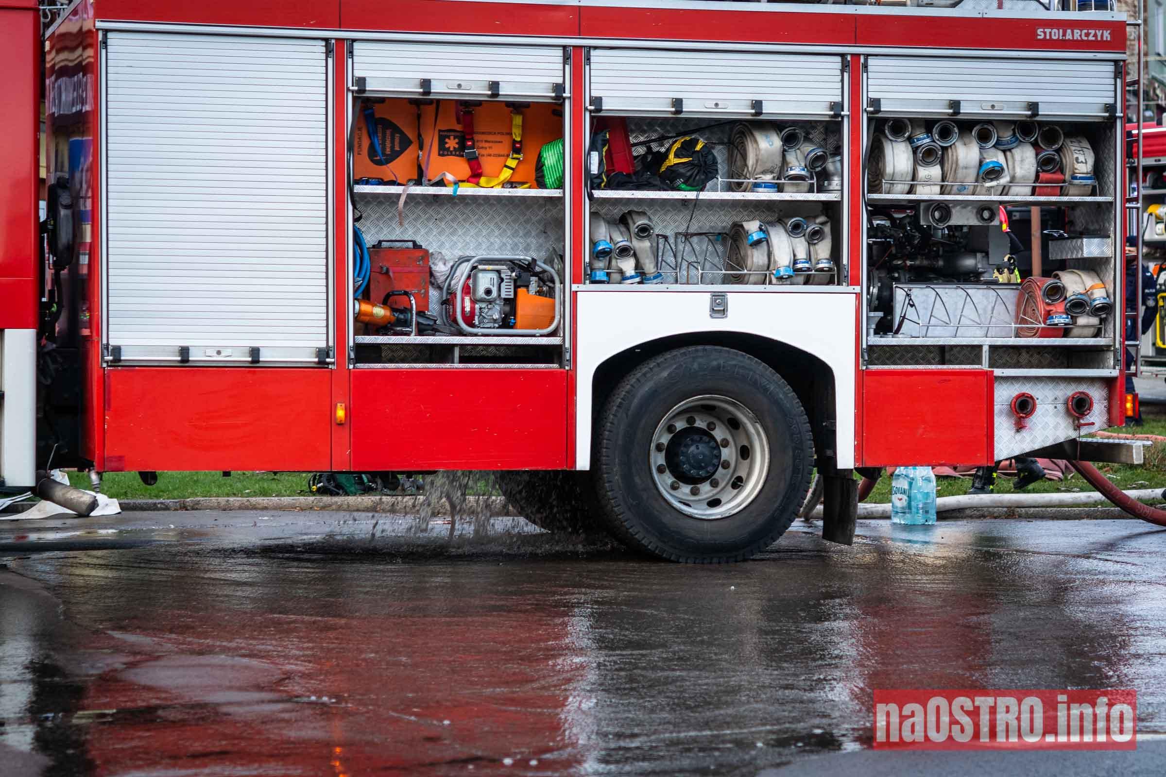 NaOSTROinfo Pożar ul Młyńska-8