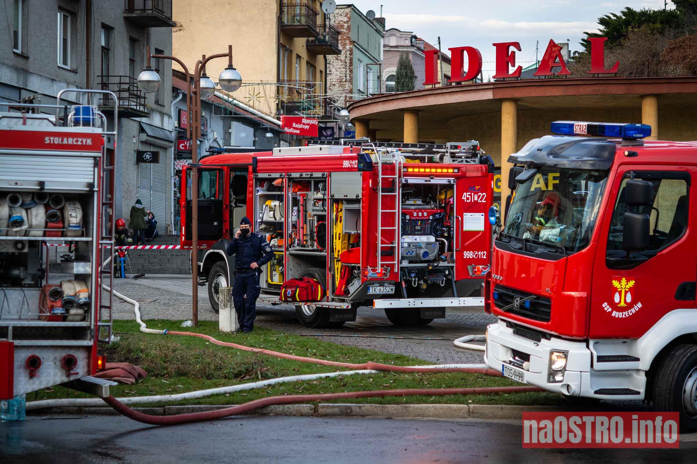 NaOSTROinfo Pożar ul Młyńska-9