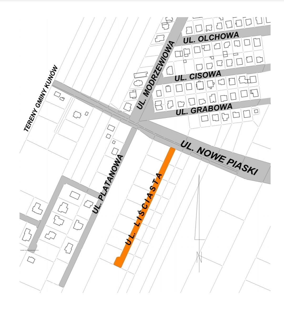 Ulica Liściasta