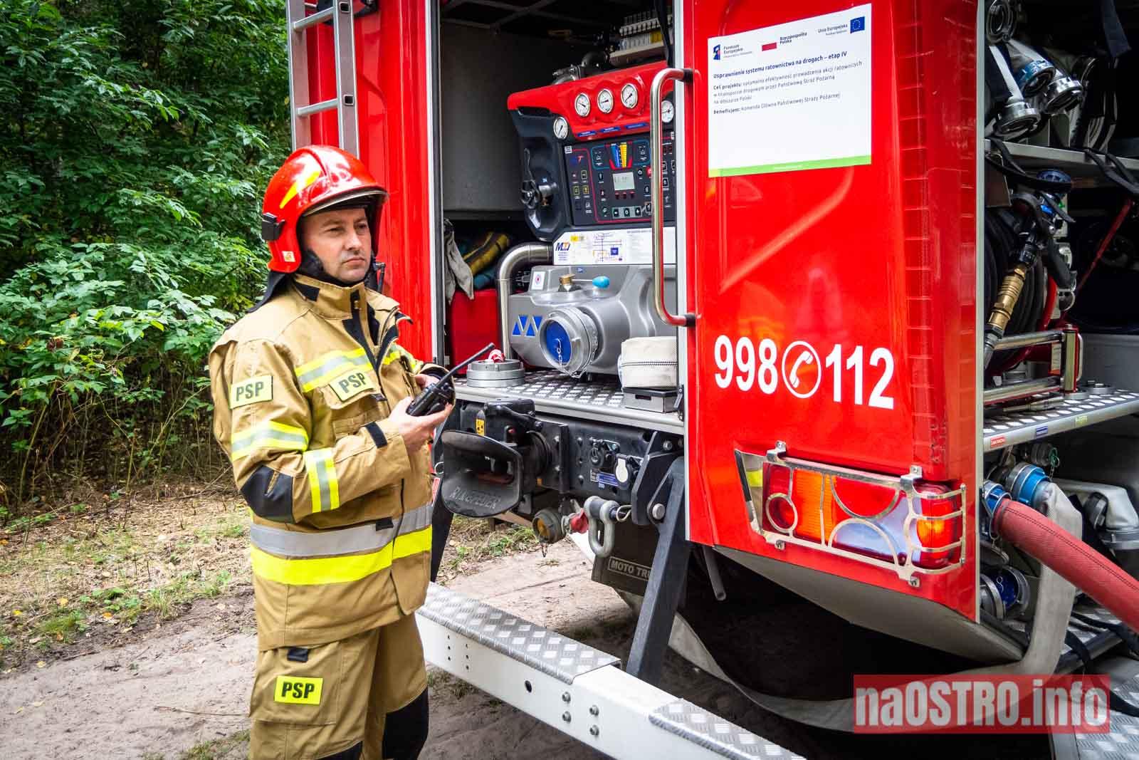 NaOSTROinfo Ćwiczenia Straży Pożarnej-10