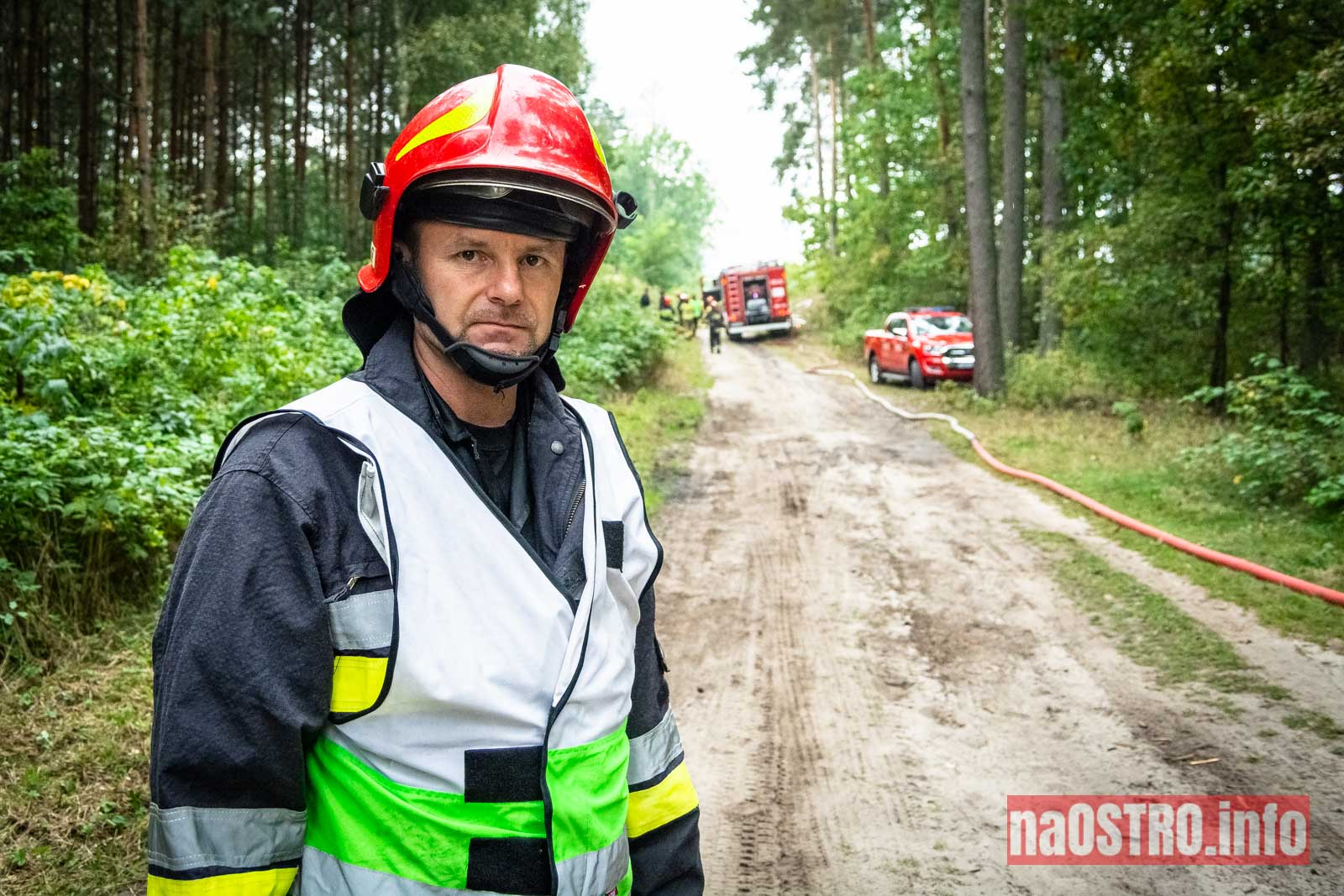 NaOSTROinfo Ćwiczenia Straży Pożarnej-21