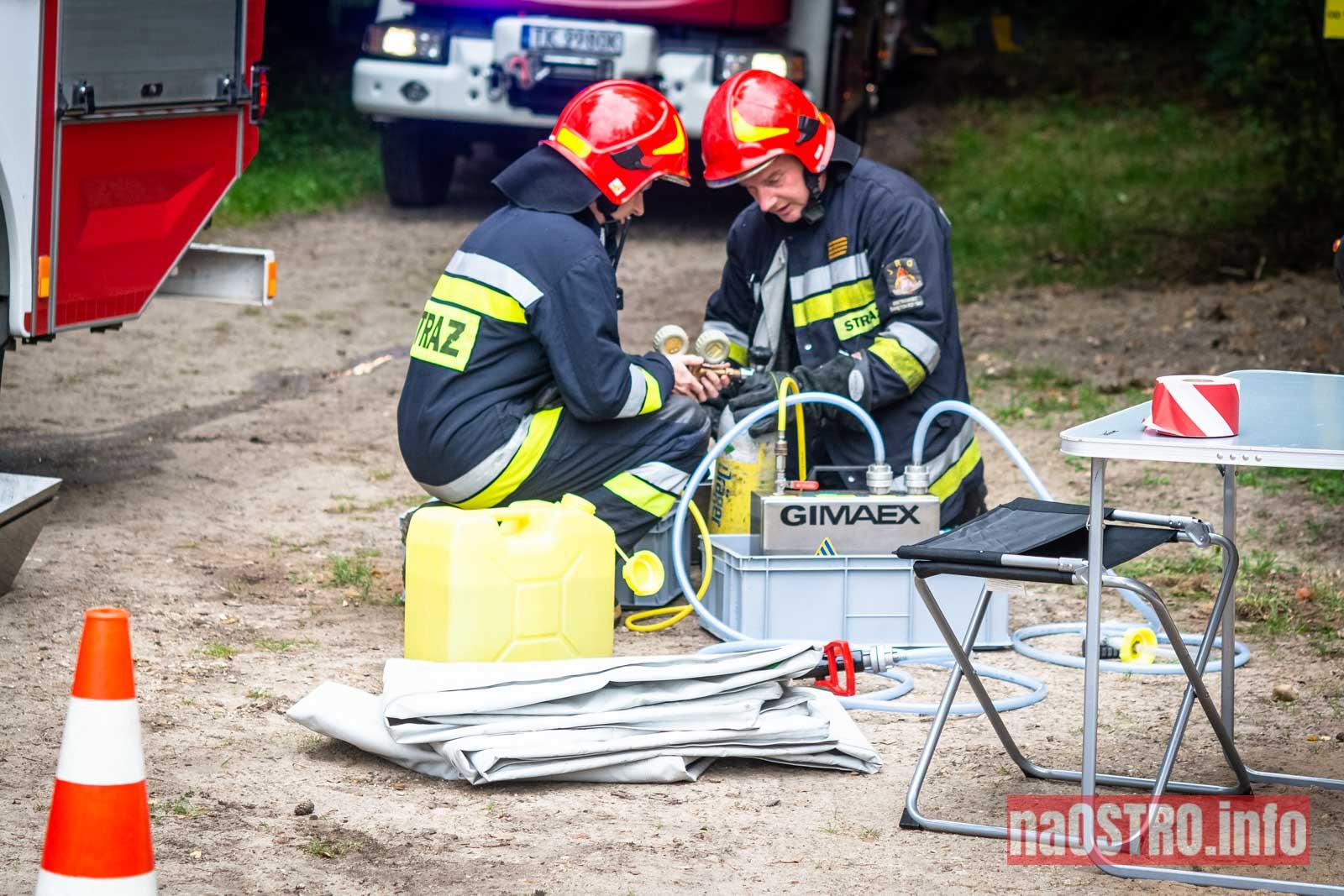 NaOSTROinfo Ćwiczenia Straży Pożarnej-38