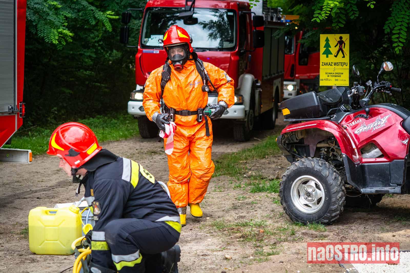 NaOSTROinfo Ćwiczenia Straży Pożarnej-39
