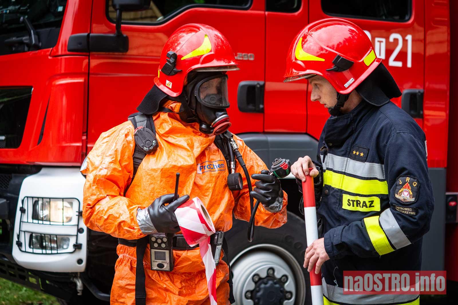 NaOSTROinfo Ćwiczenia Straży Pożarnej-40