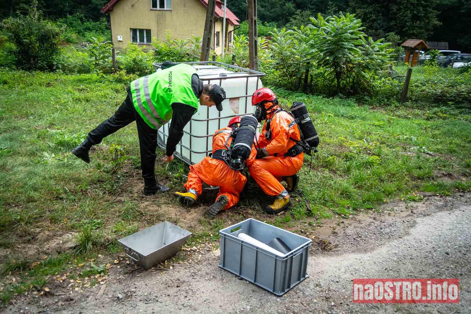 NaOSTROinfo Ćwiczenia Straży Pożarnej-54